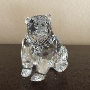 Swarovski Clear Crystal Grizzly Bear